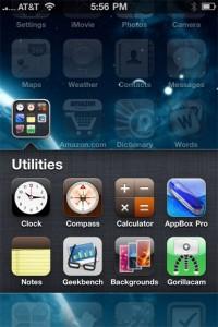 Immagine schermo iPhone 4