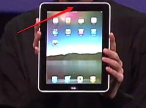 Apple iPad Videocamera