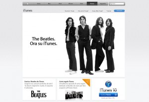 I Beatles su iTunes