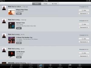 Ping per iPad