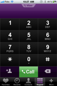 Viber sull'iPhone